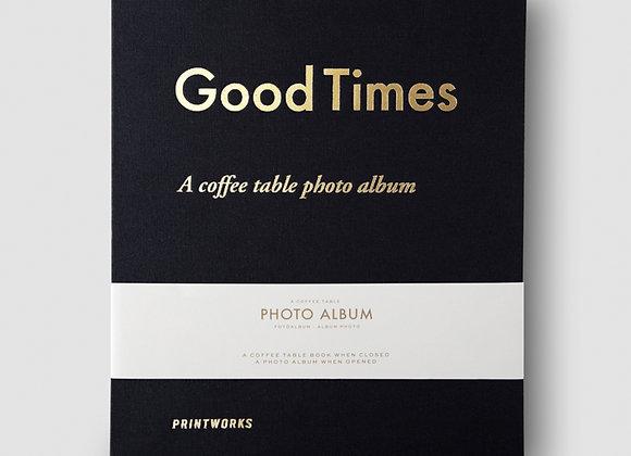 Photo Album - Good Times - Large black