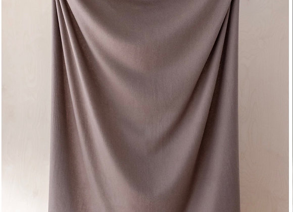 Lambswool Full blanket in Taupe