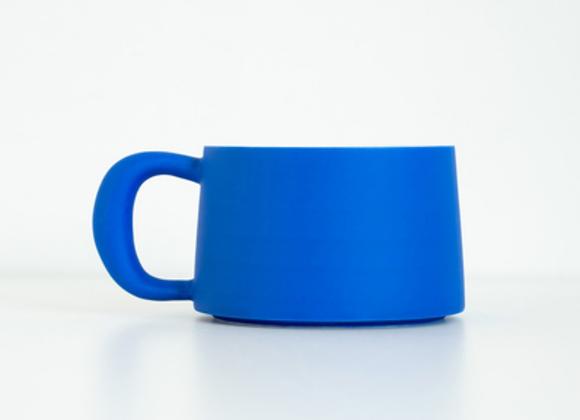 cobalt blue cup BY sixteen utensil