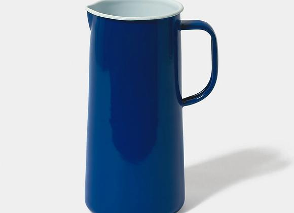 Falcon enamel 3 pint jug in Mineral Blue