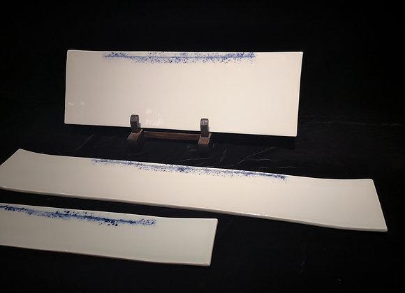 Spin Long & Wide Slat Plate - China Blue