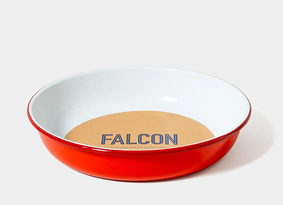 Falcon enamel salad bowl - Medium Pillarbox Red