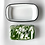 Thumbnail: Green and white marble effect enamel butter dish