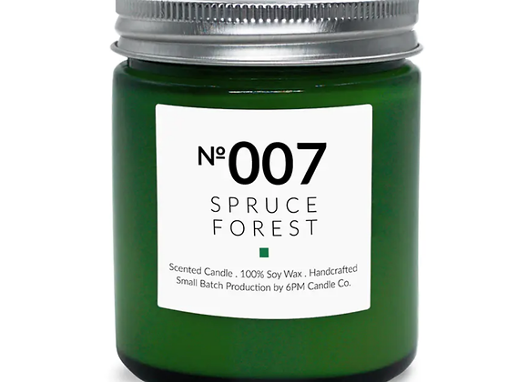 007 Spruce Forest 6PM Candle