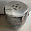 Thumbnail: Silver cut out ceramic stool