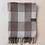 Thumbnail: Recycled Wool Jacob Tartan full blanket