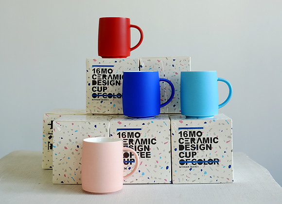 Bold colour cup BY sixteen utensil