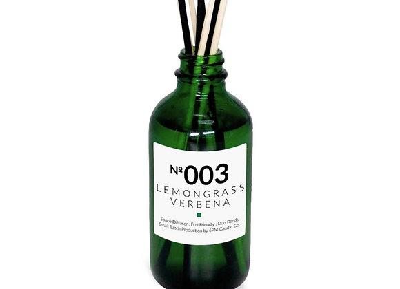 003 Lemongrass Verbena 6PM space diffuser