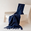 Thumbnail: Navy Lambswool Knee blanket
