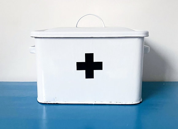 Vintage style medical tin