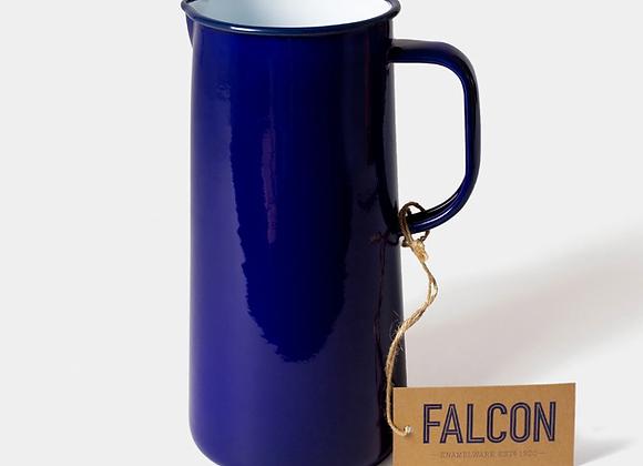 Falcon enamel jug in deep blue