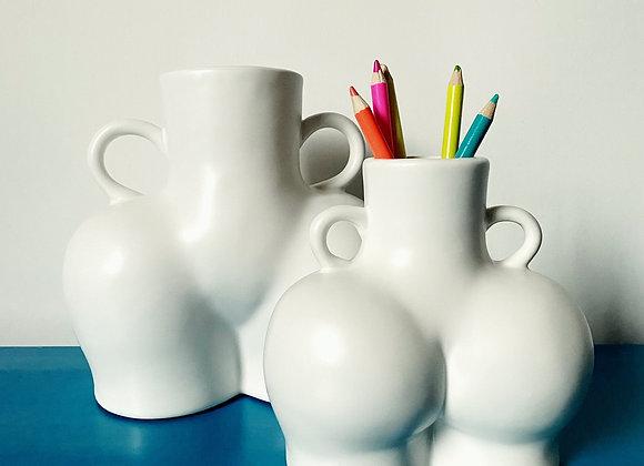 Bum vases - two sizes