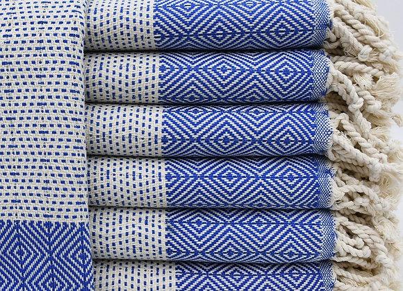Hand towel - Cobalt blue