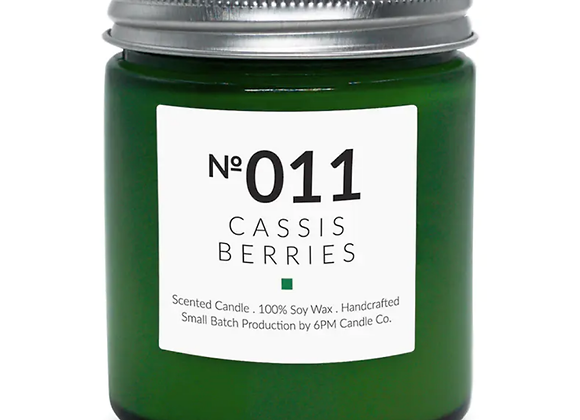 011 Cassis Berries 6PM Candle