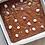 Thumbnail: Falcon enamel square bake tray - Pillarbox Red