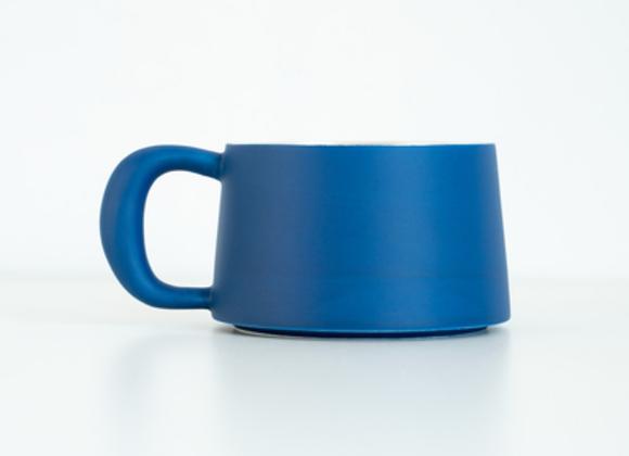 Dark teal cup BY sixteen utensil