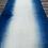 Thumbnail: Handmade dip dyed indigo table runner