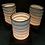 "Thumbnail: Spin ceramic ""paper lantern"" tea light holder"