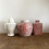 Thumbnail: Small antique replica coral red Ginger jar