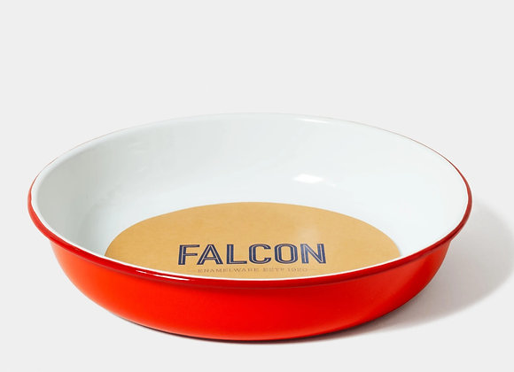 Falcon enamel salad bowl - Large Pillarbox Red