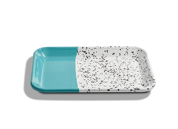 kapka enamel shallow tray
