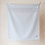 Thumbnail: Supersoft lambswool baby blanket in quiet grey gingham