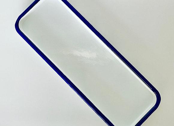Enamel serving tray