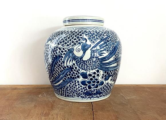 Ginger Jar with phoenix