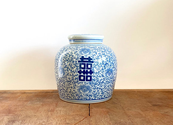 Double Happiness Round jar