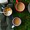 Thumbnail: Falcon enamel mug in white with blue rim