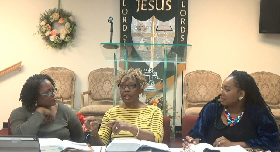 Bible Study Live On Facebook!