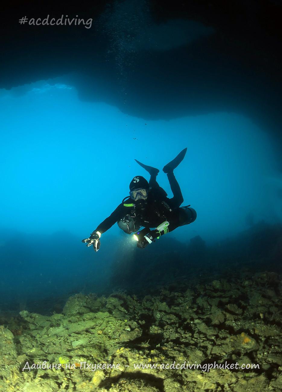 Вход в Maya Cave, остров Пхи Пхи Лей