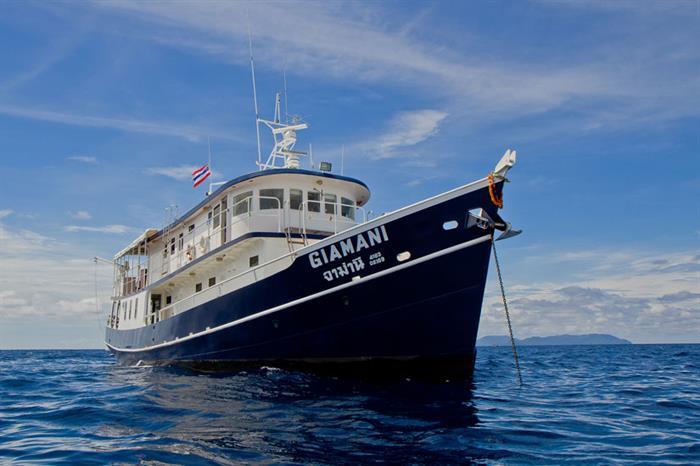 Giamani - сафарийная яхта на Пхукете