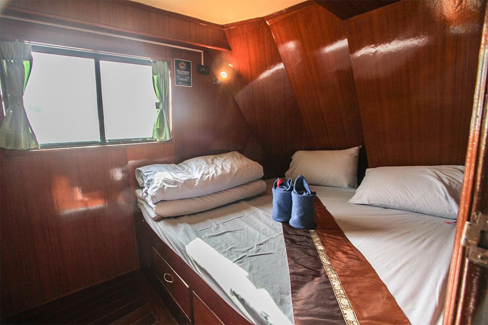 Manta Queen 2 - двуспальная каюта