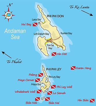 Дайвинг на Пхукете с дайвцентром Andaman Coast Dive College