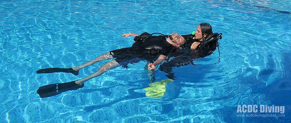 Курс PADI Rescue Diver на Пхукете,PADI Rescue Diver, Курс дайвера спасателя, Rescue Diver Пхукет, SSI Diver Stress and Rescue