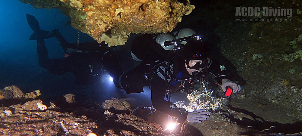 Дайвинг в пещерах Таиланда