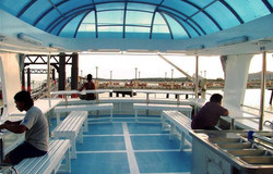 Корабль South Siam - верхняя палуба