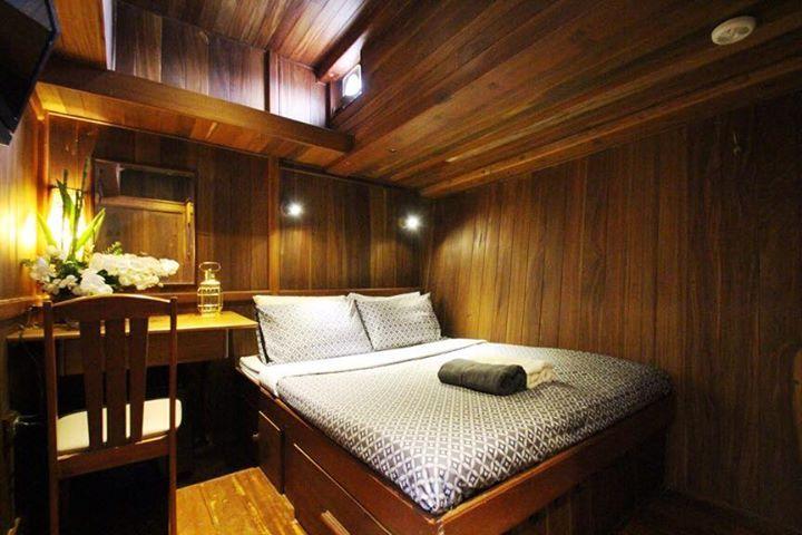Diva Andaman - каюта с двуспальной кроватью