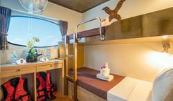 MV Pawara Deluxe Cabin