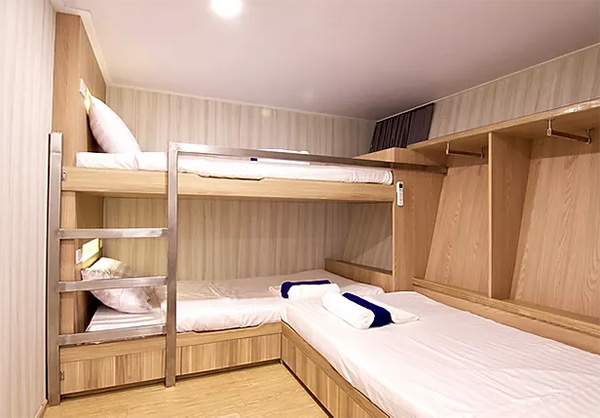 Deep Andaman Queen - Standart Triple Cabin