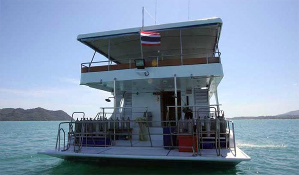 MV Pawara Dive Deck