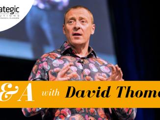 Q&A with Motivational Speaker, David Thomas