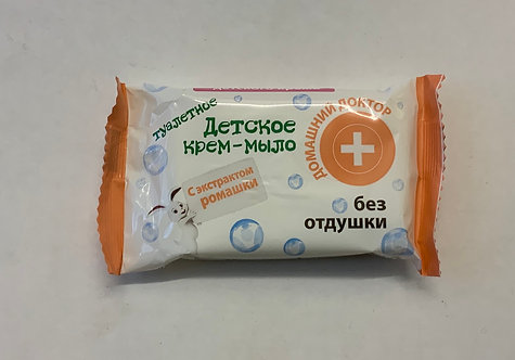 Soap cream for kids with Chamomile without perfume 70g