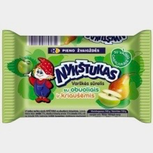 Nykstukas Curd Cheese Bar with Apple and Pear 100g