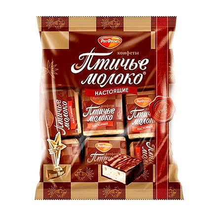 RotFront - Ptichye Moloko Cream and Vanilla Sweets 225g