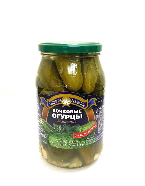 Teshchiny Recepty Sour Cucumber ( Бочковые) 900g