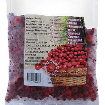 Frozen Cranberries Lukoshko 500g