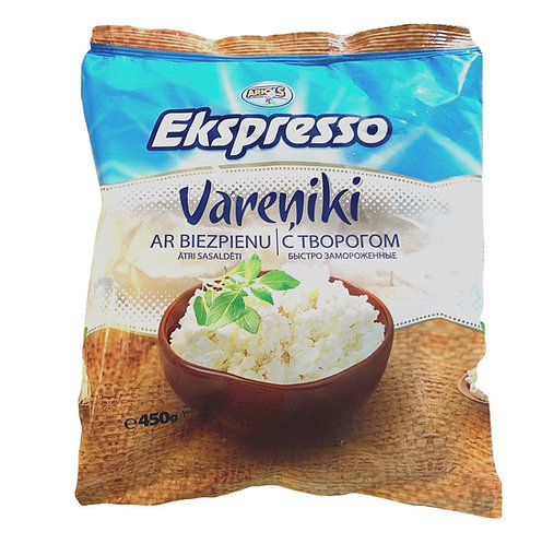 "Dumplings With Cottage Cheese ""Ekspresso"", 450g"