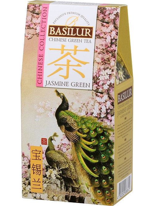 Chinese Jasmine Green Loose Tea - 100g